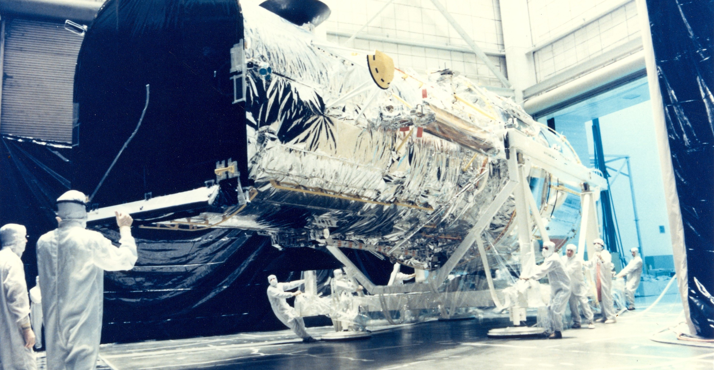 Preparing Hubble for Operations in Space